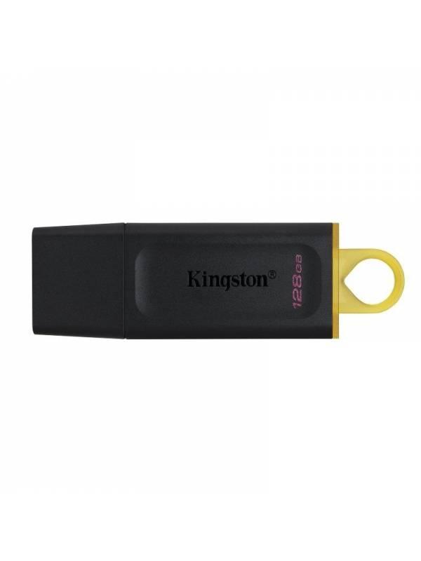 MEMORIA USB 3.2 128GB KINGSTON  DATATRAVELER EXODIA NEGRO