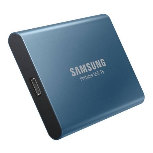DISCO USB 3.1 2.5 SSD 500GB   SAMSUNG GEN 2 AZUL