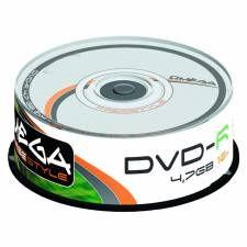 DVD OMEGA    25 UNDS 16X 4.7GB  -R