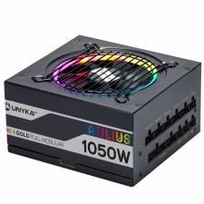 FUENTE 1050W/87.5A 12CM ATILIU S MODULAR RGB NEGRA